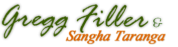 Gregg Filler and Sangha Taranga Logo